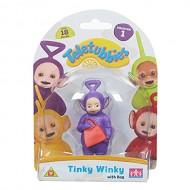 Teletubbies, personaggio Tinky Winky con borsa 8.5 cm TLB04000 di Giochi Preziosi