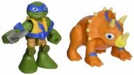 Teenage Mutant Ninja Turtles, Half Shell Heroes Dino Leonardo & Triceratops TUH00000