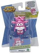 Super Wings -SUPER WINGS   Dizzy Aereo Robot Trasformabile, 5 Cm GIOCATTOLO ORIGINALE GIOCHI PREZIOSI TOYS