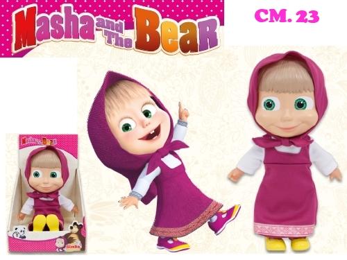 Masha bambola da 23 cm toys mania giocattoli for Masha giocattolo