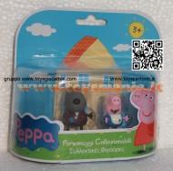 PEPPA PIG BLISTER 2° SERIE MODELLO FORMATO DA DANNY CANE E GEORGE CCP 04430