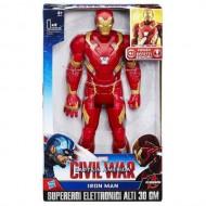 Marvel Avengers Iron Man Elettronico 30 cm B6177 di Hasbro