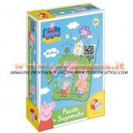 PEPPA PIG Puzzle sagomato Peppa Pig LISCIANI 40667
