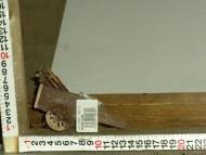 Millenium Christmas. Carretto interamente in legno con ruote in plastica. Cod. 363