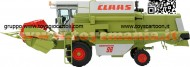 NOREV LIMITED EDITION 3000 PZ. SCALA: 1/32 TIPO: TREBBIA CLAAS DOMINATOR 96