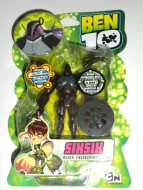 BEN TEN : GIOCATTOLO GIG !!! ALIEN COLLECTION BEN 10 PERSONAGGIO SIXSIX !!!
