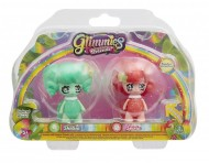 Giochi Preziosi - Glimmies Rainbow Friends Blister Doppio, Shelisa e Spiria