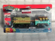 !!!!!! CHUGGINGTON !!!!!BLISTER DOPPIO MOTORISED CHUGGINGTON PERSONAGGIO  DUMBAR E IL VAGONE MERCI COD 470530