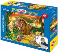 Puzzle Df Supermaxi 108 Re Leone di Lisciani 31801 double-face