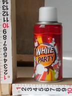 schiuma scherzo SPRAY PER FESTE colore bianco ML 150 IL COLORE DEL BARATTOLO CAMBIA IN BASE ALLE CONSEGNE CHE AVREMO MA PRODOTTO SEMPRE OMOLOGATO