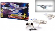 Air Hogs 6027406 - Star Trek Enterprise NAVICELLA VOLANTE COME QUELLA DEL FILM