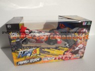 FLASH AND DASH FURMULA EXSTREME METALLIZZATA MODELLO FLY INFINITY TURBO DELUXE SCALA 1/2418464