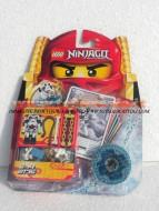LEGO NINJAGO PERSONAGGIO WYPLASH 2175 !