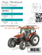 ROS-AGRITEK SCALA: 1/32 MODELLINO NEW HOLLAND G170 ROS 30149