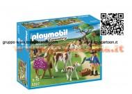 PLAYMOBIL 5227 RECINTO CON CAVALLI E PONY