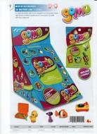 Gomu novita' giocattoli , toys Gomu , mini puzzle gommosi cod 18103 offerta per i negozi e non solo