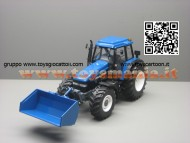 NOVITA' REPLICAGRI TRATTORE MODELLINO NEW HOLLAND 8360 CON PALA E ACCESSORI  SCALA 1/32