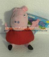 PEPPA PIG PELUCHE 16 CM CIRCA PERSONAGGIO PEPPA PIG
