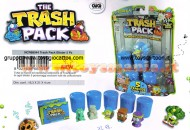 PATTUMEROS THE TRASH PACK I PATTUMEROS OFFERTA 5 BIDONI IN DISPLAY NCR 68044