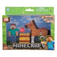 Minecraft Series 2 figure - Steve e Chestnut Horse NCR16595