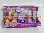 Disney Small Doll Sofia baking fun con i suoi fratelli Amber e James  BDK50 di Mattel