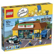 Lego - The Simpsons 71016 Jet Market