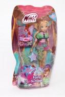 Winx Fairy School Bambola Flora con bracciale per bambina di Giochi Preziosi CCP91400