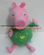 PELUCHE PEPPA PIG !! PUPAZZO GEORGE ( MIS 5 ) CON IL PIGIAMA CM 40 CIRCA !!