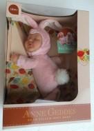 nuovo modello Anne Geddes , Bambola- CONIGLIO cm.23 BABY BUNNIES