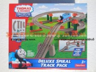THOMAS DELUXE SPIRAL TRACK PACK  ( 29 PEZZI ) DI FISHER PRICE V8337 - BDP31