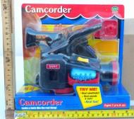Tobia's videocamera giocattolo di colore nero o grigio !