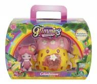 Giochi Preziosi - Glimmies Rainbow Friends Glimhouse, Fragola con Glimmies, Orsadora