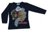 MASHA E ORSO Maglia - MAGLIETTA - T-SHIRT bambina 7 anni maniche lunghe blu nuovo modello