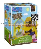 LA CASA DI PEPPA PIG DELUXE 2° EDIZIONE NOVITA' Peppa Pig Deluxe Playhouse  02820 POCHISSIMI PEZZI
