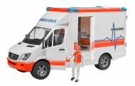 Ambulanza con autista  Bruder 02536