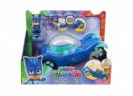 Super Pigiamini Pj Masks Veicolo Gattomobile con Luci e Suoni, Gattoboy Incluso di Giochi Preziosi PJM10000