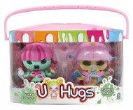 U-HUGS U HUGS - Guardaroba Vanity Playset con Bambola e Braccialetto Incluso 15000
