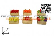 presepe - cassette della frutta per decorare e rifinire il proprio presepe - offerta 6 pezzi  cod 8033113324765
