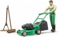 Bruder Giardiniere con tagliaerba e accessori 62103