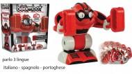 Giochi Preziosi - Bomboot Robot Interattivo Spaccatutto con Luci e Suoni - PARLO ITALIANO -SPAGNOLO - PORTOGHESE