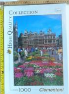 Clementoni High Quality Collection Travel  Puzzle 1000 pz
