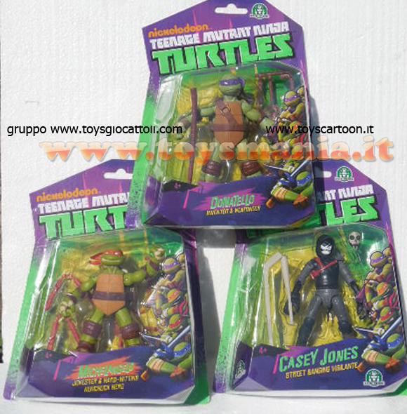 Tartarughe ninja base 10 cm offerta 3 pezzi michelangelo for Lago tartarughe