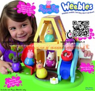 Peppa Pig  casa Weebles  e Peppa Pig Weebles cod 05120 di Giochi Preziosi