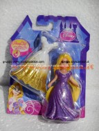 Principessa Rapunzel Disney con abito Magiclip di Raperonzolo Mattel X9411