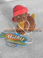 NOVITA' GIOCHI PREZIOSI MILKY & FRIENDS , MILKY E FRIENDS , EMOTION PETS !! PERSONAGGIO  MILKY BON BON COD CCP90202 COLLECT THEM !!!