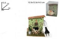 Millenium Christmas. Accessori per rifinire e rendere originale il tuo presepe. La fontana funziona con l' acqua e con la pompa elettrica COD 1727
