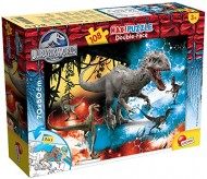 Jurassic Fury Puzzle DF Supermaxi, 108 Pezzi di Lisciani 48663 double-face