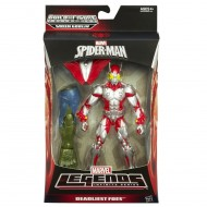Spiderman 15 cm Marvel Legends Infinite Series Scarabeo A6660-A6655 di Hasbro
