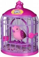 Little Live Pets assor.4 - Pretty Princess pappagallo con gabbietta LPB02000 di Giochi Preziosi