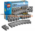 LEGO 7499 CITY® Binari flessibili Flexible Tracks - 7499